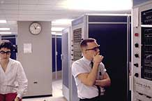 Multicians Karolyn Martin, Don Widrig, MIT Project MAC, GE 645, Apr 1968